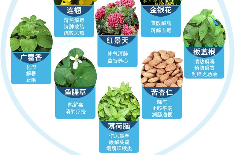 Yiling Lianhua Qingwen 24 Capsules Lotus Qingwen Qingrenqing